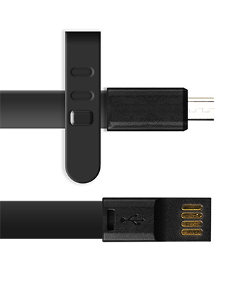 Micro USB Charger 3ft Long - Black