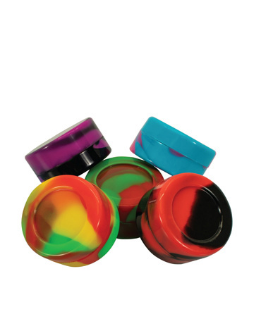 Silicone Container Large 2-Pack - Rainbow Mix